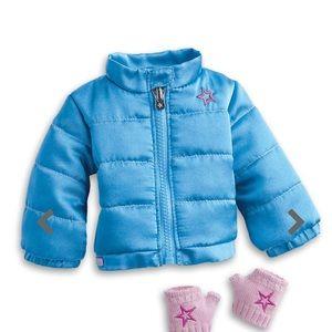 BNIB American Girl Puffy Jacket